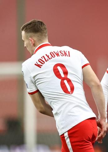 DEBIUT w meczu Polska-Andora! 17-letni Kacper Kozłowski rozegrał 22 minuty meczu Polska-Andora😍